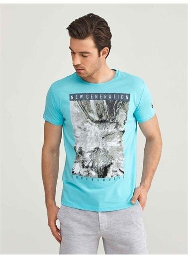 MCL Tişört Mavi